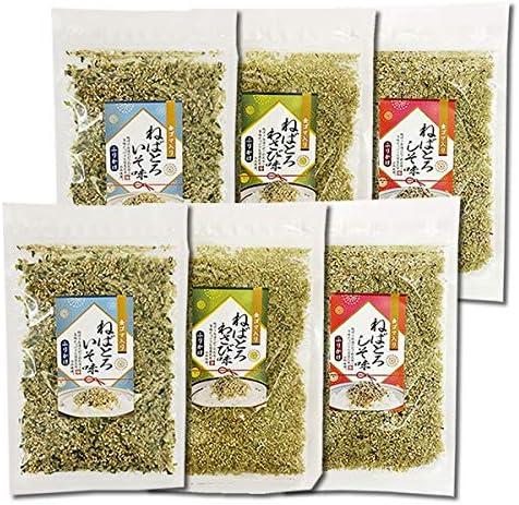 山根食品 ねばとろふりかけ 磯味&わさび味&しそ味 計6袋まとめ買いセット 国産昆布使用