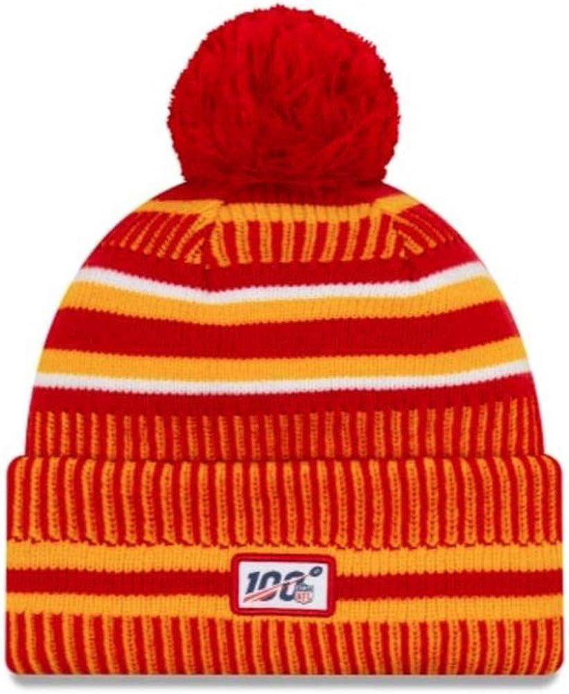 A NEW ERA Era On Field Sport Knit Hm Beanie ~ Kansas City Chiefs ...