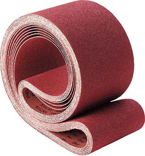 60 Grit PFERD 49576 Benchstand Abrasive Belt Ceramic Oxide Co-Cool 42 Length x 1 Width Pack of 10