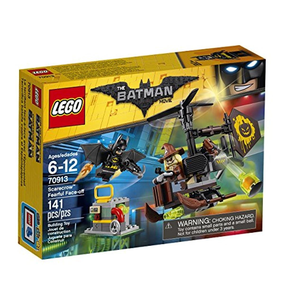 [해외] LEGO BATMAN MOVIE SCARECROW FEARFUL FACE-OFF 70913 BUILDING KIT
