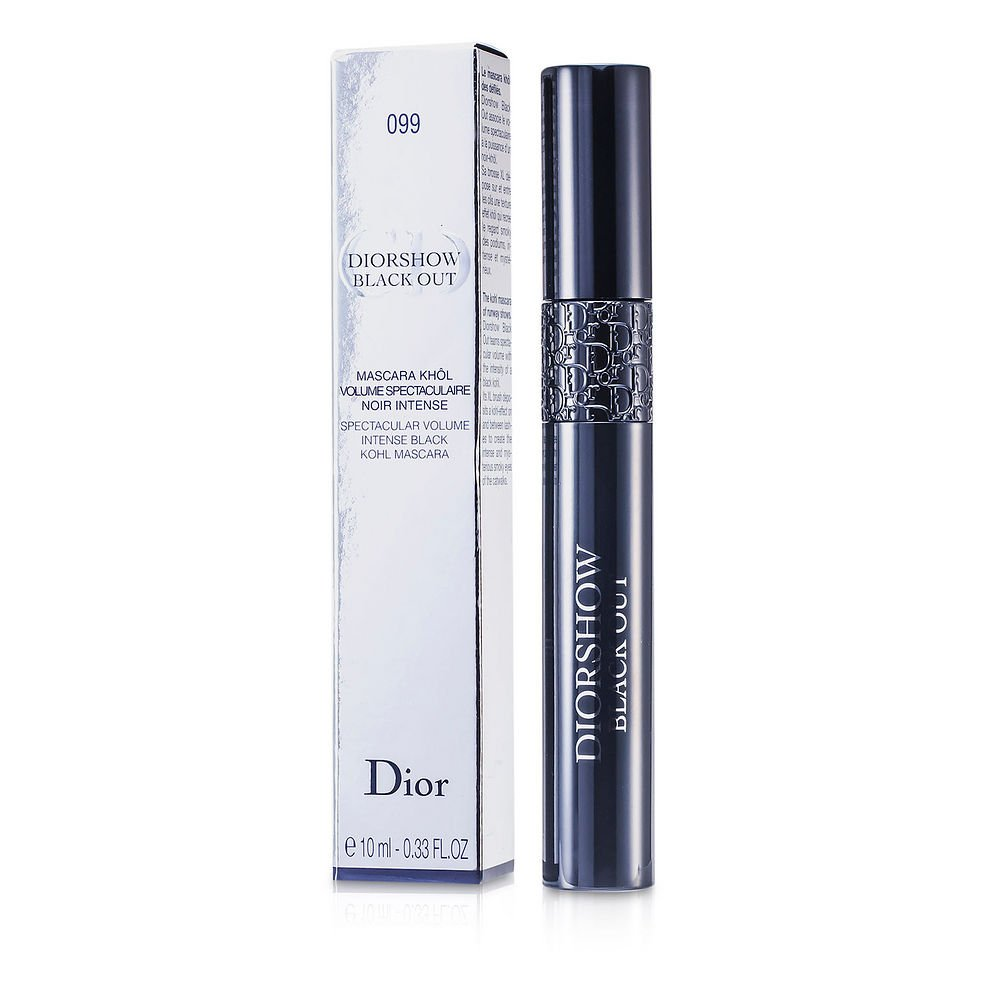 CHRISTIAN DIOR by Christian Dior Diorshow Black Out Mascara - # 099 Kohl Black --10ml/0.33oz for WOMEN ---(Package Of 4) by Dior (Image #1)