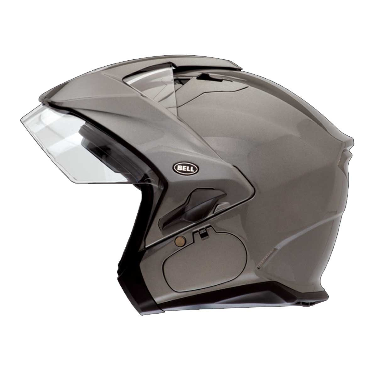Amazon.com: Titanium Sz XL Bell Helmets Mag-9 Sena Open Face Helmet: Automotive