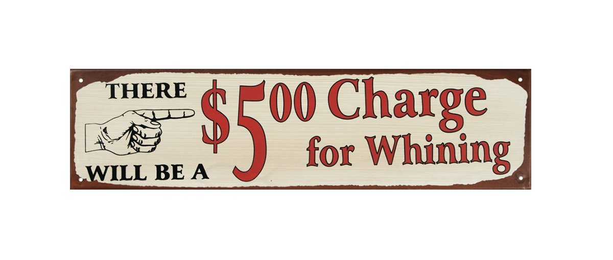 Ohio Wholesale Whining Tin Wall Art, from our Everyday Collection by Ohio Wholesale