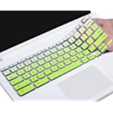 CaseBuy Keyboard Cover Compatible with Lenovo Chromebook C330 11.6/Flex 11 Chromebook/Lenovo 100e 300e 500e N20 N21 N22 N23 11.6 Chromebook/Lenovo N42 N42-20 14 inch Chromebook, Gradual Green