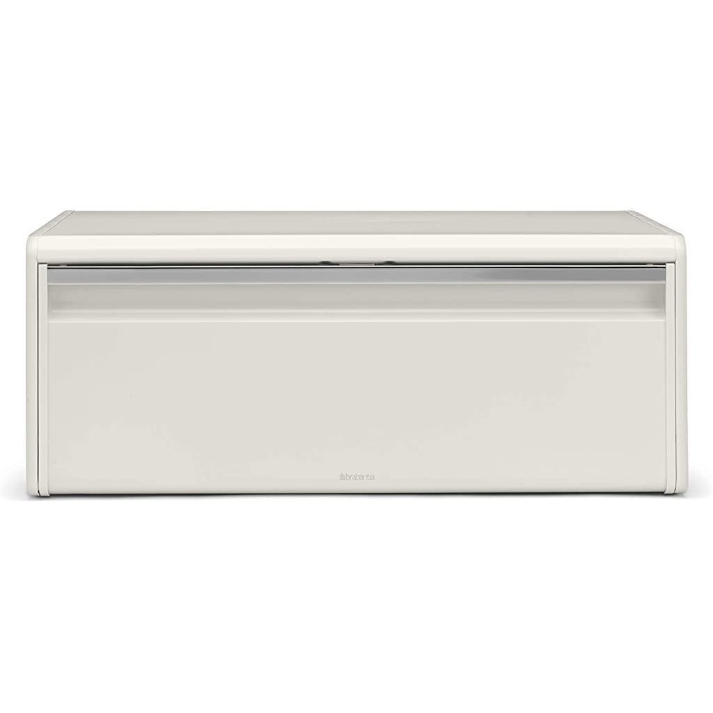 Brabantia Fall Front White Bread Bin