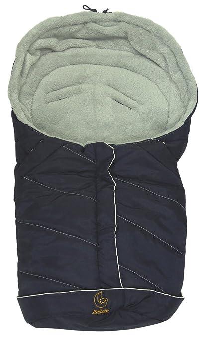 6 opinioni per Baby Minder 050.5100-003 Sacco a Pelo Invernale per Ovetto/Carozzina, Blu Avorio