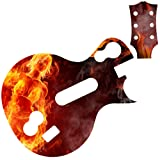 Fire Woman Supremacy Battleskin for Les Paul Guitar