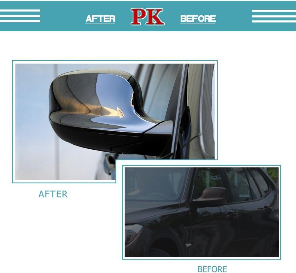Rear View Mirror Cover Cap for 2011-2013 BMW E84 X1 F25 X3 Dry Carbon Fiber by Jun-star