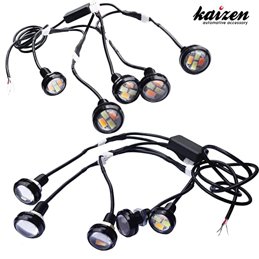 Kaizen Eagle Eye Dual Color Drl Backupturn Signal Lights Switchback