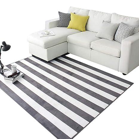 Amazon.com: Alfombra moderna, minimalista, estilo nórdico ...
