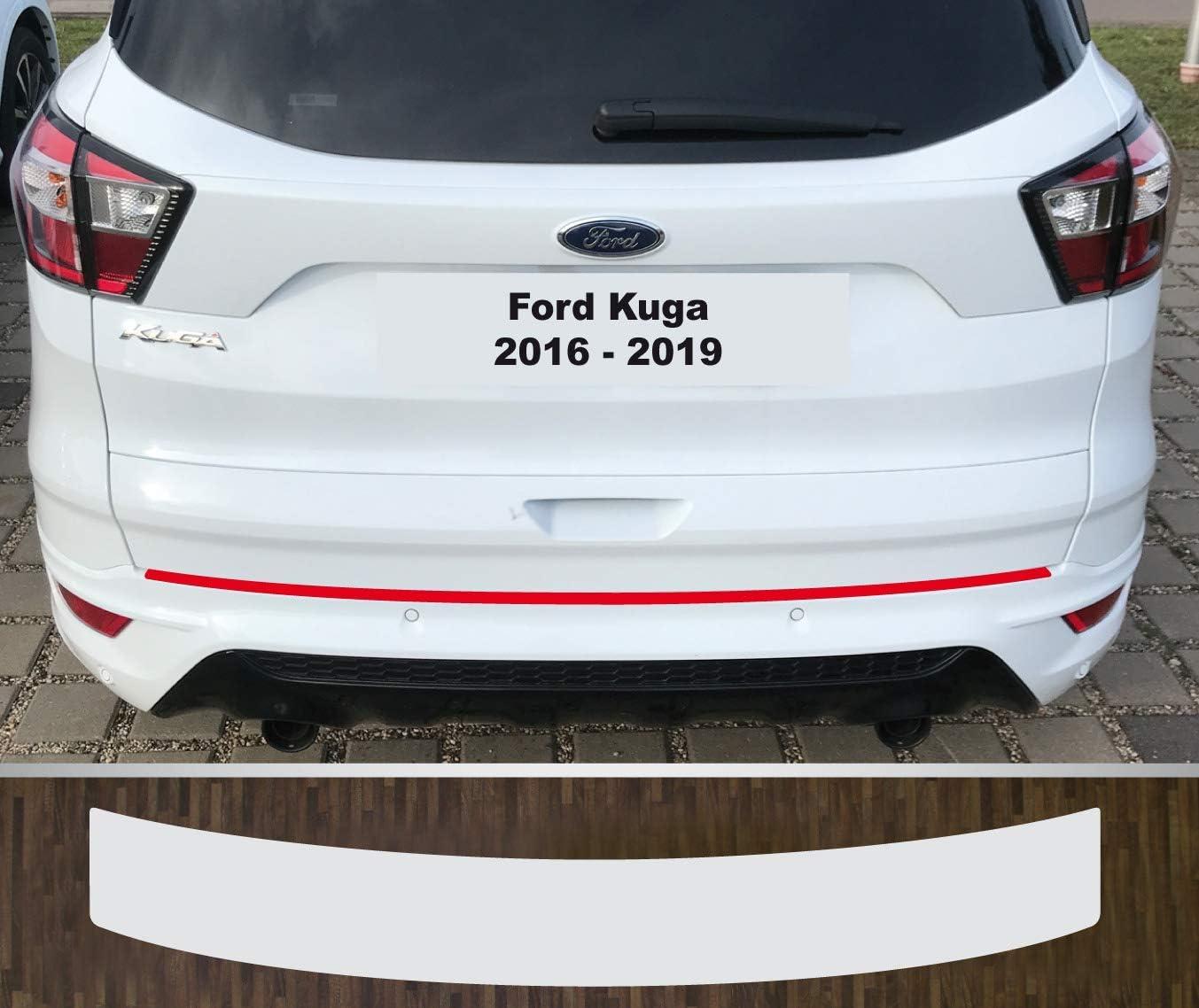 Is Tuning Lackschutzfolie Ladekantenschutz Transparent Für Ford Kuga 2016 2019 Auto