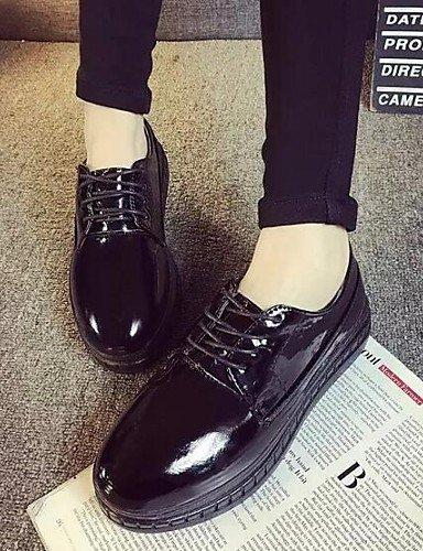 Comfort Semicuero Cn39 us8 White La Zapatos Sneakers De Plataforma Njx Uk6 Blanco A Punta us6 Cn36 Mujer Moda Uk4 Negro Exterior Hug Vestido Redonda White Eu36 Eu39 x0nw6q1qCU