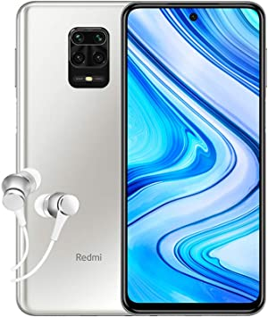 Xiaomi Redmi Note 9 Pro - Smartphone Débloqué 4G (6.67 Pouces - 6Go RAM - 64Go Stockage, 5020mAh, Quad Caméra – NFC) Blanc Polaire - Version Française