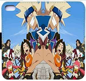 Generic Fashion Case Cover Fit for iPhone 6 6S 4.7 inch Soul Eater Leather Flip Cover Wallet Phone Case and Credit Card Slot With Magnetic Hasp STR-3316642