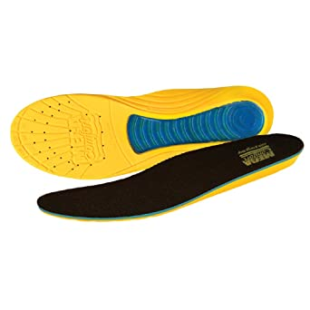 Antifatigue Soles Pr Black Mens 13 to 16