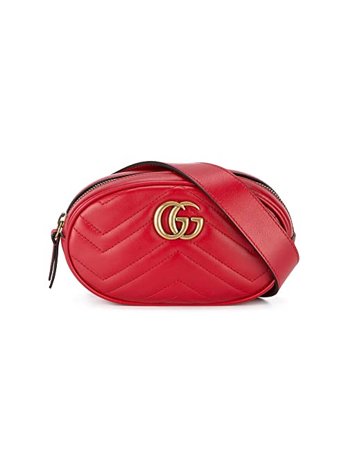 aa27393399a Gucci Women s 476434Dsvrt6433 Red Leather Shoulder Bag  Amazon.ca  Sports    Outdoors