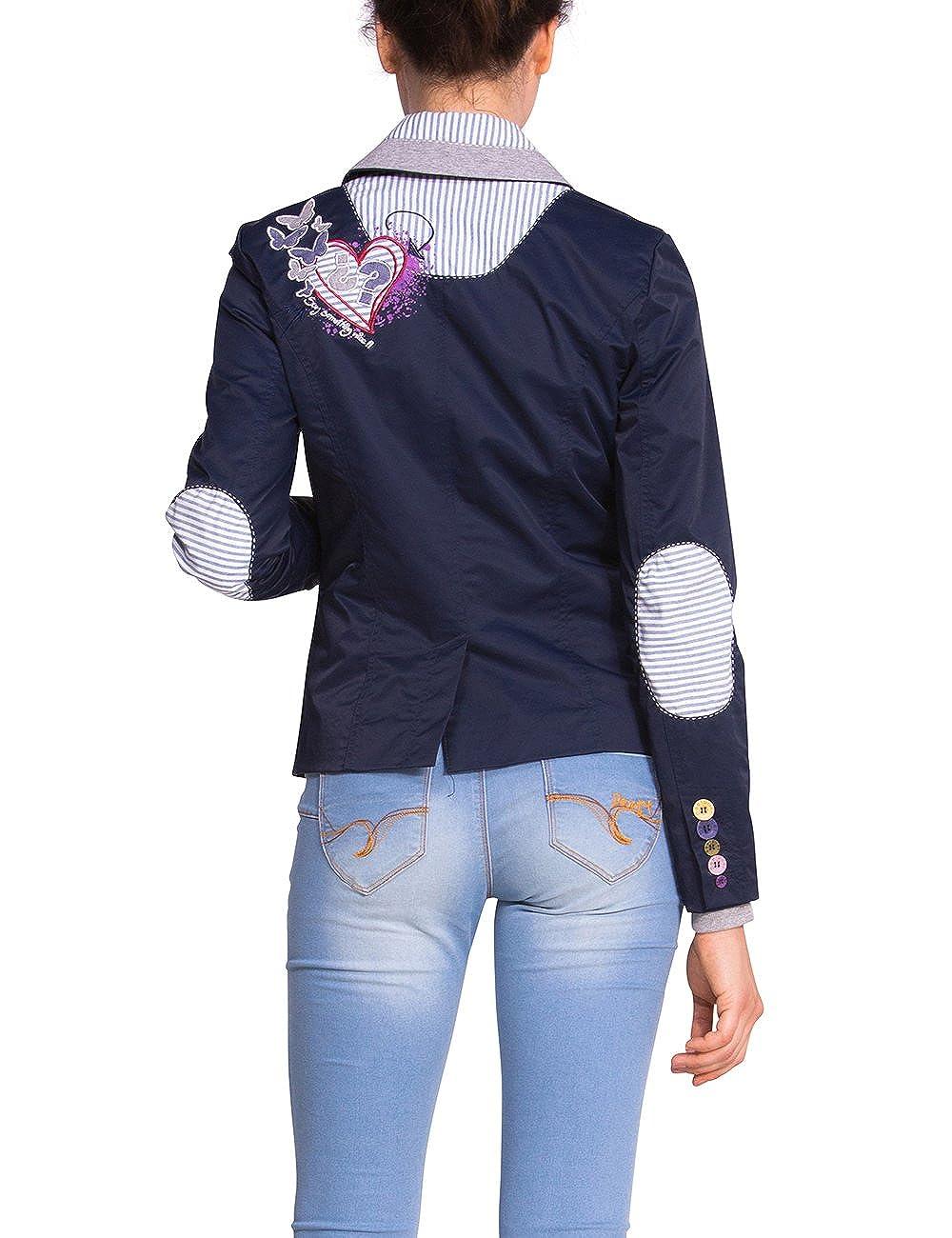 Femme Desigual Taille À 36 58Jean Pour Bleu Vêtements 4jc5q3LSAR