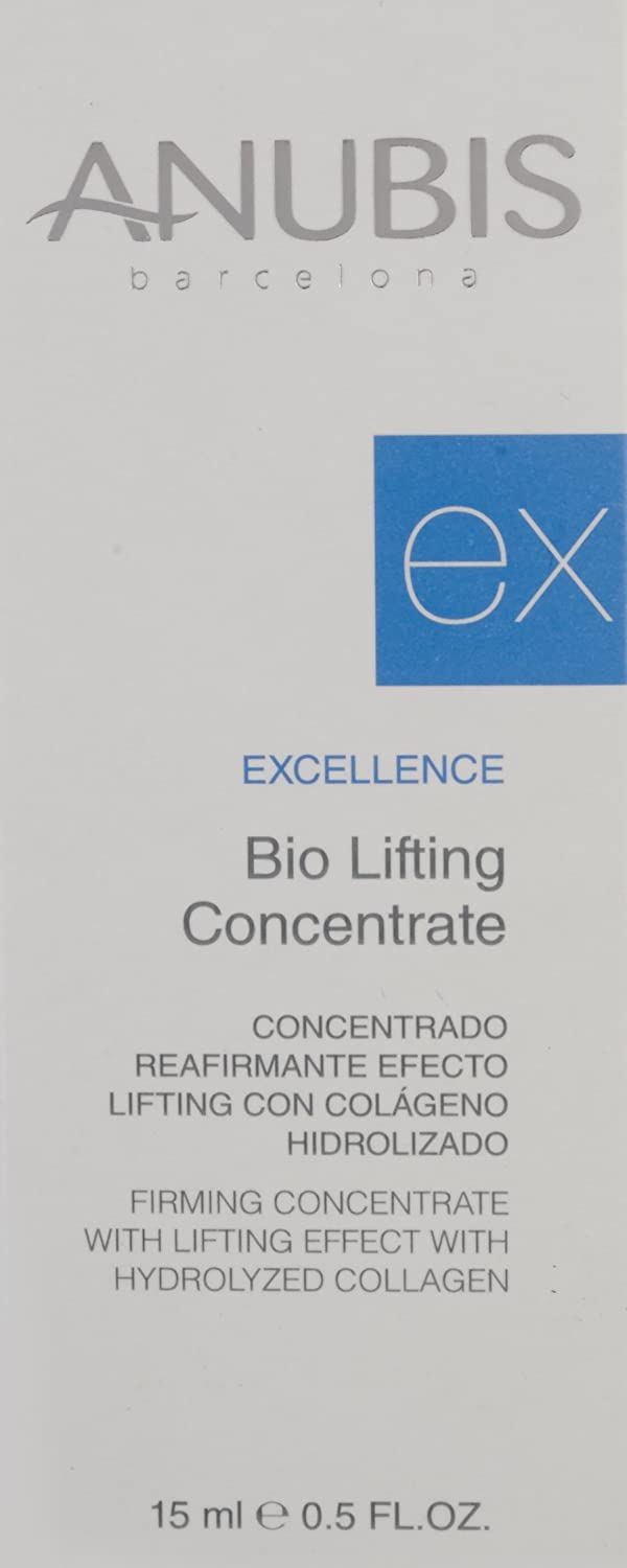 Anubis - Excellence Bio Lifting - Concentrado reafirmante con colágeno hidrolizado - 15 ml: Amazon.es: Belleza