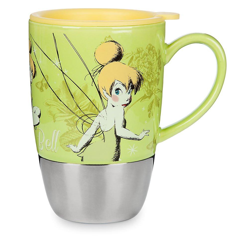 Disney Tinker Bell Ceramic Top Travel Mug