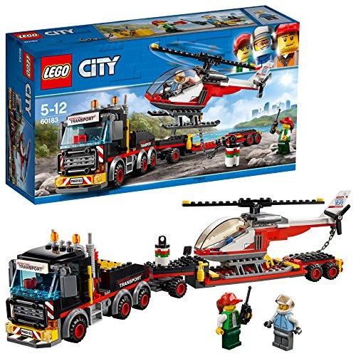 [해외] 레고(LEGO) 씨티 거대화물 수송차와 헬리콥터 60183