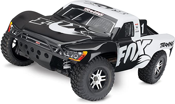 Traxxas Slash 4X4 1/10 Scale LCG 4WD Electric Short Course Truck with on