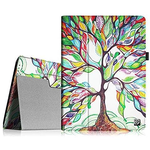 Fintie iPad 2/3/4 Case - Slim Fit Folio Case with Smart Cover Auto Sleep / Wake Feature for Apple iPad 2, iPad 3 & iPad 4th Generation with Retina Display - Love (Original Ipad 4 Case)