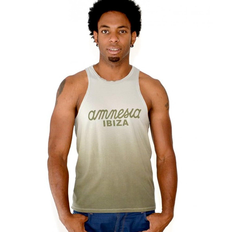 Amnesia Ibiza: Gradient Mens Logo Tank