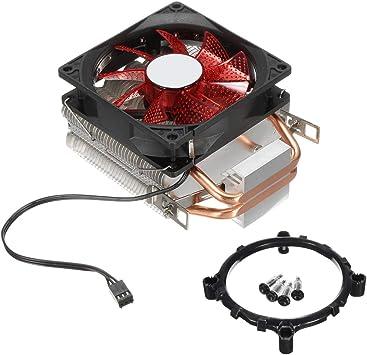 9cm LED 3 Pines Ventilador de refrigeración Ventilador de ...