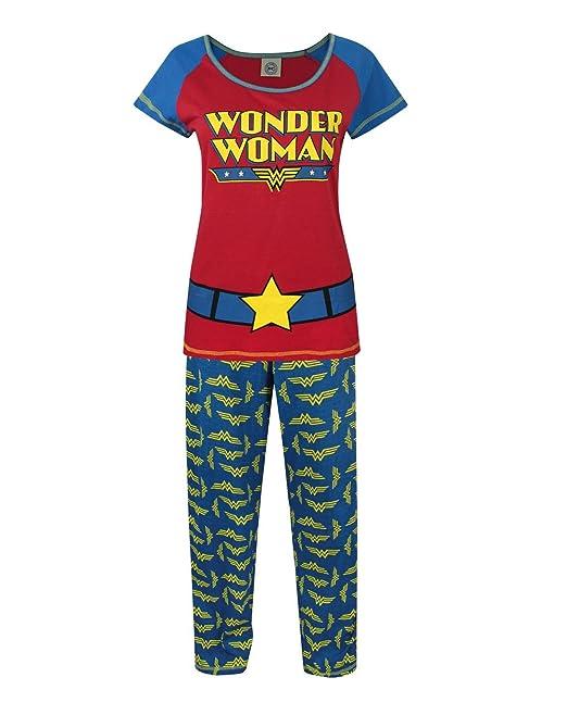 Official Mujeres Wonder Woman - Pijama (S)