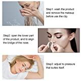 yalansmaiP 2 Packs Nose Up Lifting Clip Nose Shaper Clip Nose Beauty Up Lifting Nose Lifter Clip Soft Safety Silicone Rhinoplasty Slimming Device for Wide Crooked Nose