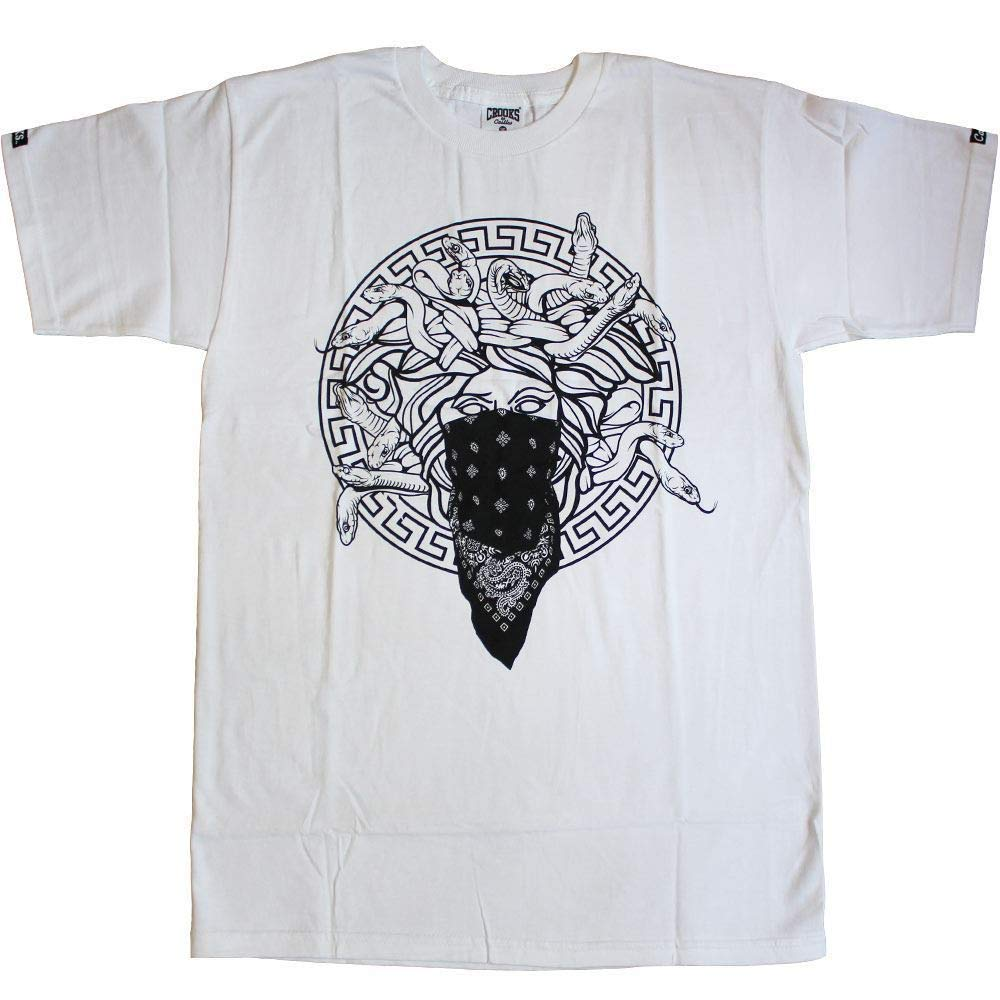 Crooks & Castles Medusa Primo T-Shirt White