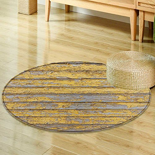 Round Area Rug red barn Wooden Wall Planking Horizontal Texture Old Retro Wood slats Rustic Indoor/Outdoor Round Area Rug -Round 47