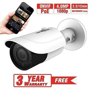 Amazon.com: provisual 4 Megapixel HD IP Bullet cámara de ...