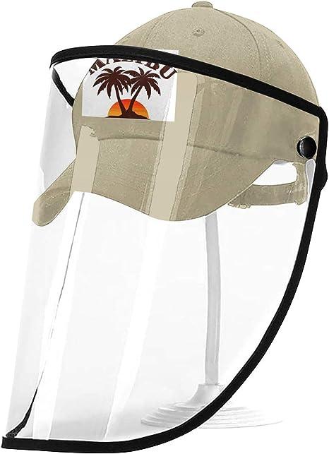 dfegyfr Ron Malibu Imprime Sombrero Protector Protector ...