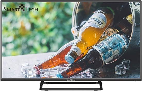 Smart-Tech SMT40P28SA10 Smart Televisor Certificación Full HD de 40 Pulgadas, con Sintonizador Triple Incorporado y Wi-Fi (DVB-T2 / T/C / S2 / S, Negro): Amazon.es: Electrónica