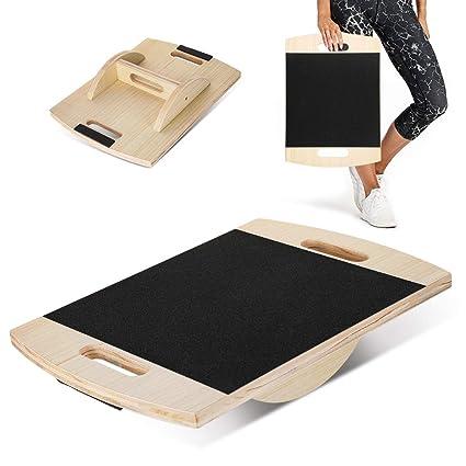 Amazon.com: NAFURNO Tabla de equilibrio de madera, tabla de ...