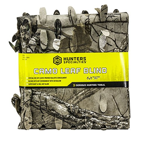 (Hunters Specialties Lightweight Material Camo Leaf Blind, 56-Inch x 30-Feet, Realtree Xtra )