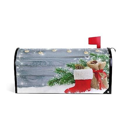 Amazon Com Woor Christmas Red Santa Boot Bag Gifts And