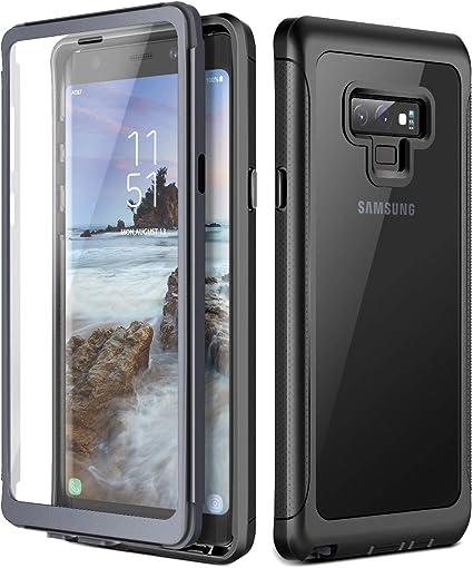 Prologfer Funda para Samsung Galaxy Note 9 360 Grados Transparente ...