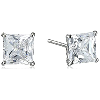 10K Gold Swarovski Stud Earrings