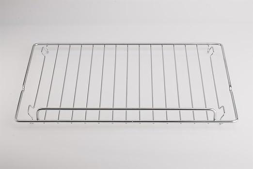 daniplus 844091603 - Parrilla (460 x 354 mm, apta para horno Smeg: Amazon.es: Hogar