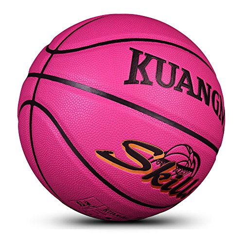 Kuangmi Multi-Color Basketball for Junior Kids Child Boys Girls Size 5 27.5