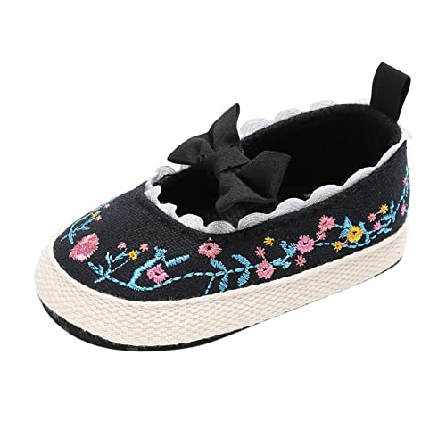 Minuya Neugeborenen Baby Mädchen Prinzessin Mary Jane Schuhe Bowknot ...