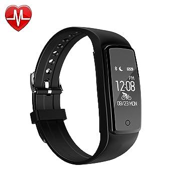 Montre Connectée, willful Bracelet Connecté Fitness Tracker dActivité Cardiofrequencemetre Poignet Smartwatch Cardio Etanche