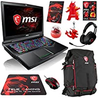 MSI GT75VR TITAN SLI 4K-028 Enthusiast (i7-7820HK, 32GB RAM, 2TB NVMe SSD + 1TB HDD, NVIDIA GTX 1070 SLI 16GB, 17.3 4K UHD, Windows 10) VR Ready Gaming Notebook