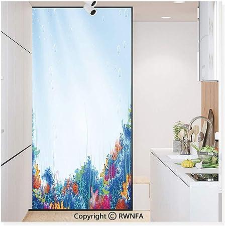 Película de vidrio sin pegamento, pegatina de papel para ventana, adhesivo estático para privacidad, decoración de