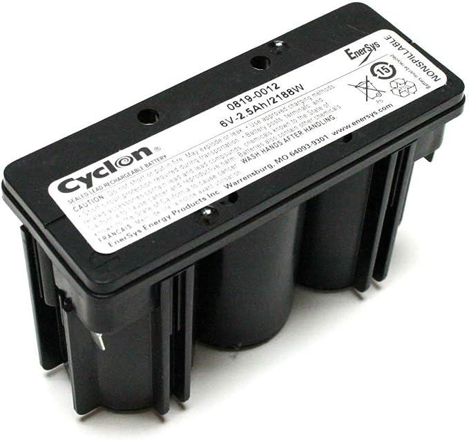 AKKU BATTERIE  ENERSYS CYCLON 0819-0017  12V 2,5Ah für Rasenmäher