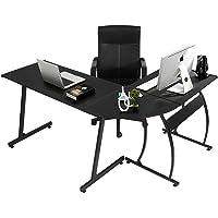 GreenForest L Shape Corner Computer Office Desk PC Laptop Table Workstation  Home Office 3