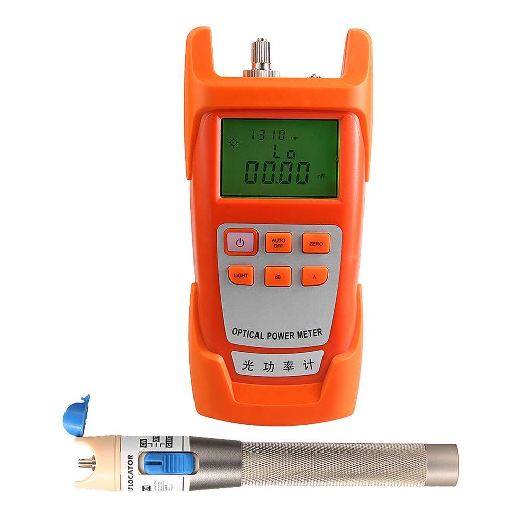 SM SunniMix 1Set -70dBm~+10dBm 850~1625nm Optical Power Meter Tester FC SC Handheld Optical Power Meter + 1mW Visual Fault Locator Pen by SM SunniMix (Image #7)