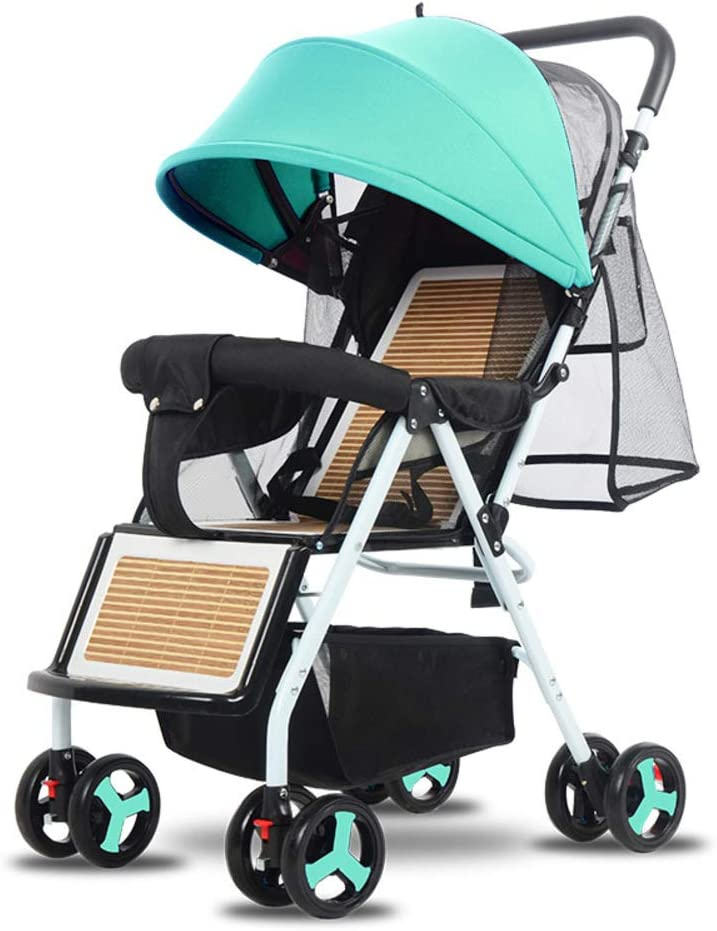 Silla Plegable Ligera,stroller Lavable Baby Discovery Four Seasons Universal Baby Stroller-a